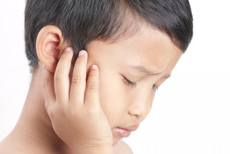 Foreign Body In a Boy's Ear