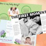 Mother's Diary On Newborn Baby