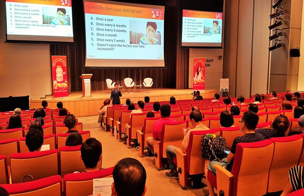 Health Related Seminar On Vitagen Event