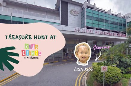 Treasure Hunt At Kids Clinic Mt Alvernia With Litttle Keira