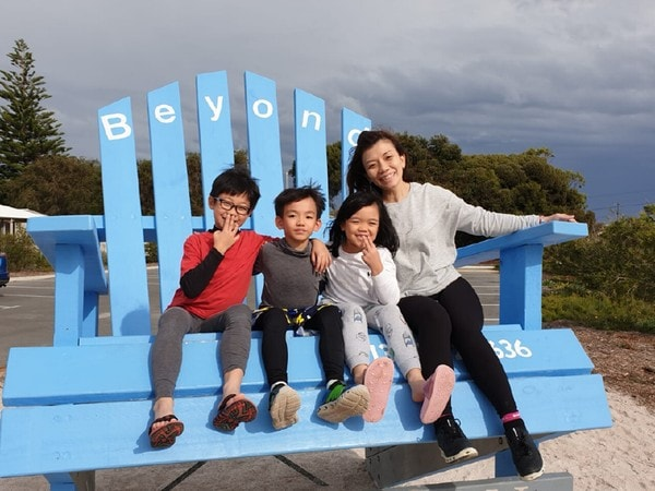 Carolyn Goh a Working Mother with Three Children