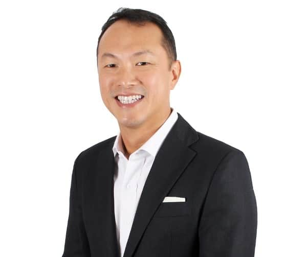 Dr. Beng Teck Liang a CEO and Father of Two Boys