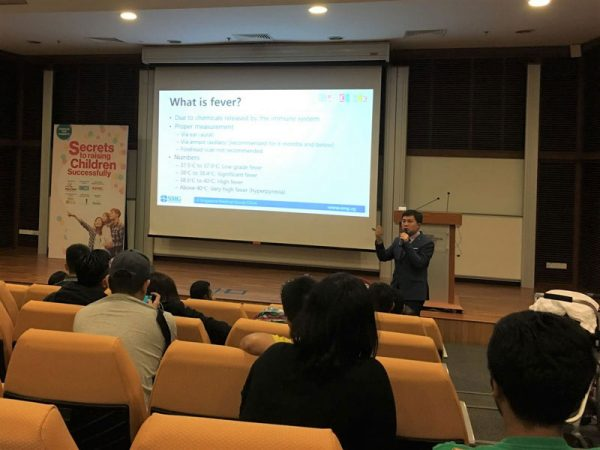 Doctor Dave Shares On What Is Fever In A Seminar